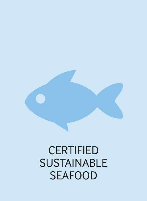 certified sustainable seafood 2018